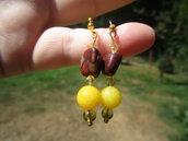 Agata gialla e diaspro rosso