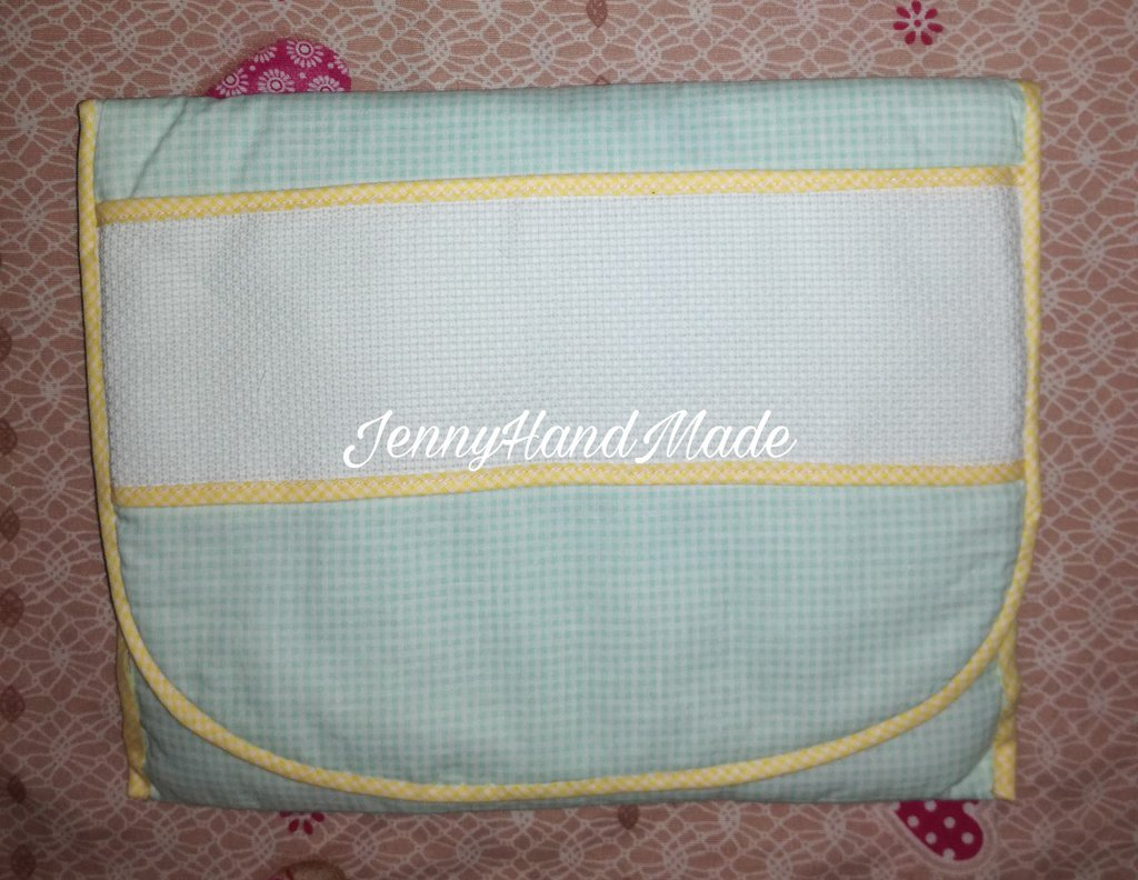 Set sacchetto due colori e bustina neonato