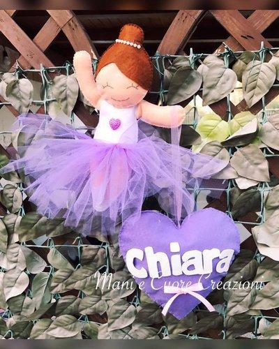 Fiocco Ballerina -nome Maria