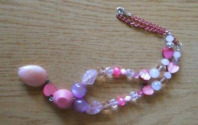 Collana bambina rosa