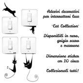 Gattini stickers per interruttori