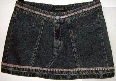 Jeans Mini Skirt