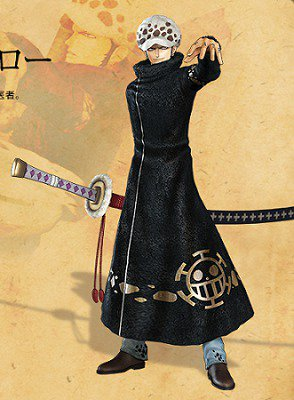 COSTUME COSPLAY TRAFALGAR LAW TAGLIA L - XL