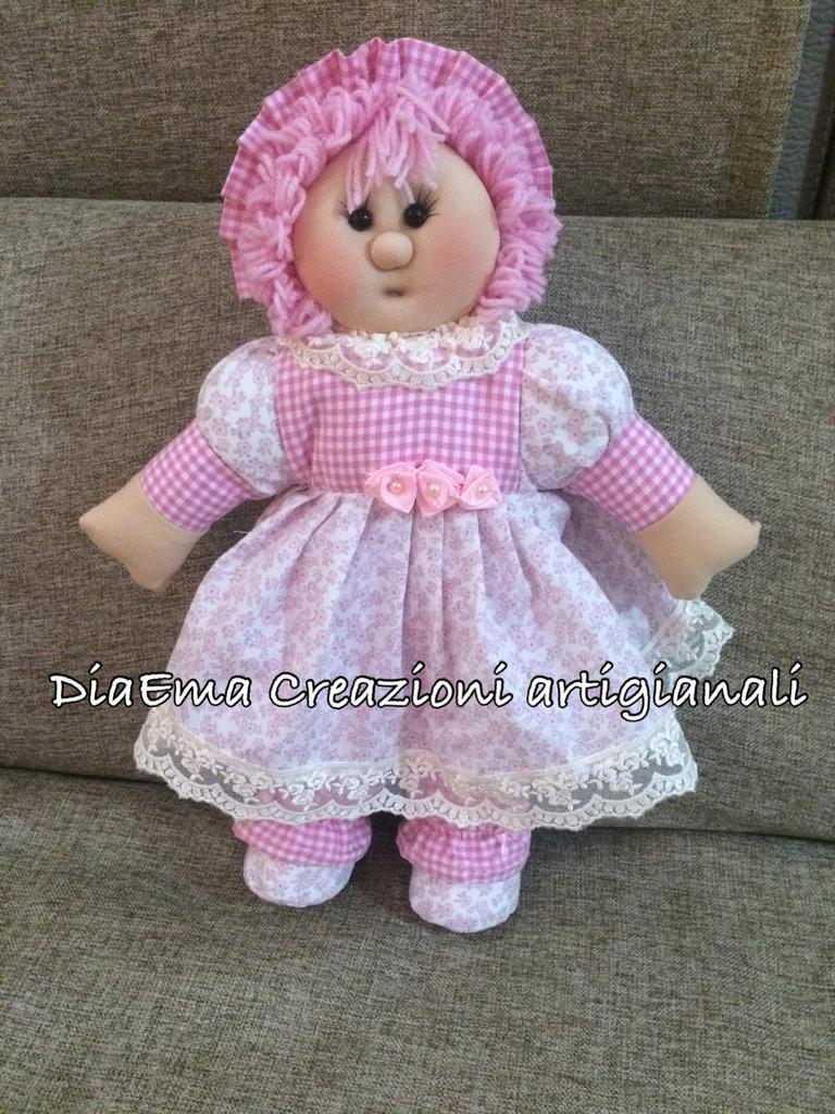 Bambola di pezza shabby