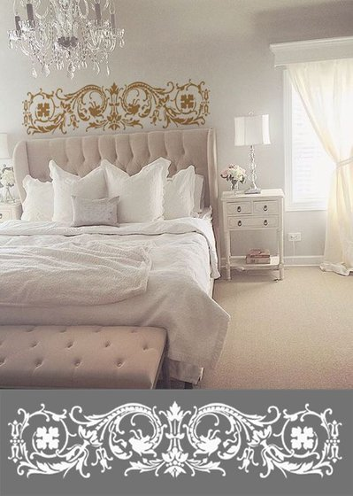 Adesivo Tête de lit in stile vittoriano