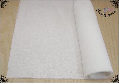 Tessuto 100% cotone colore bianco, 1 metro per 40 cm di altezza