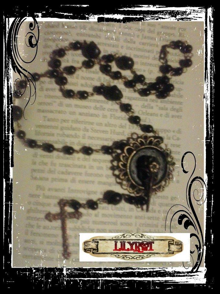 rosario corvo nero gothic steampunk vittoriano