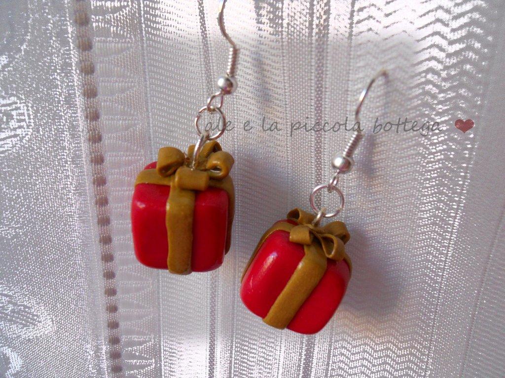 "Orecchini ""Christmas Gift"""