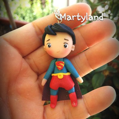 Superman collana kawaii