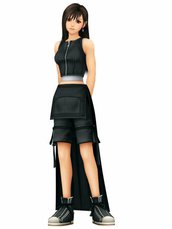 COSTUME COSPLAY TIFA - FINAL FANTASY VII TAGLIA L - XL - XXL