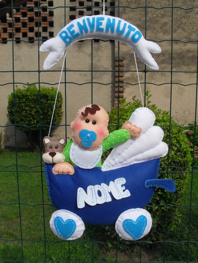 Fiocco nascita...un bebè in carrozzina