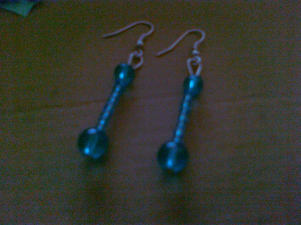 orecchini gocce d'acqua