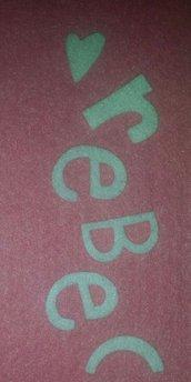 Lettere alfabeto fustellate