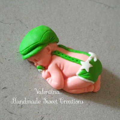 Bebè neonato- bomboniera Battesimo ♡