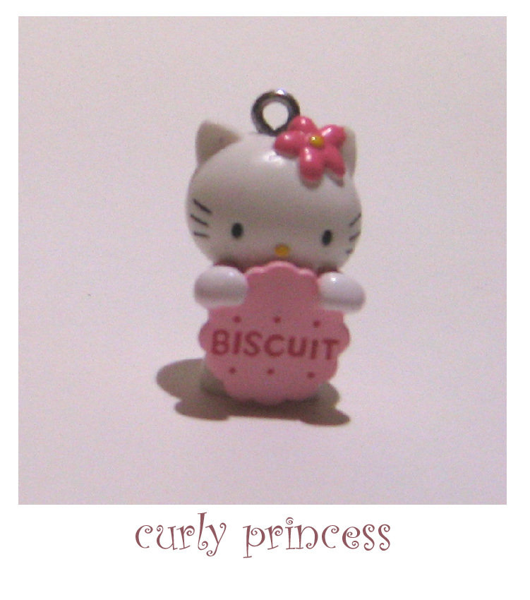 HELLO KITTY con biscotto charm