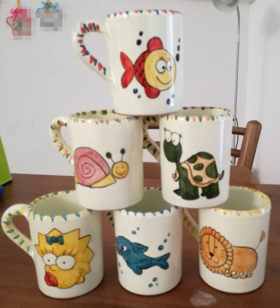 Bicchiere in ceramica