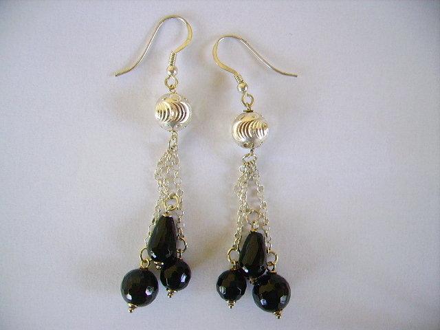 orecchini in argento da gioielleria