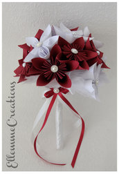 Bouquet sposa origami