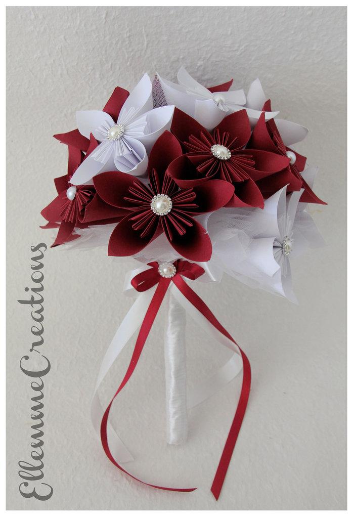 Bouquet Sposa Origami.Bouquet Sposa Origami Feste Matrimonio Di Ellemme Creations