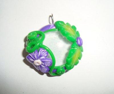 Ciondolo Goccia Emerald