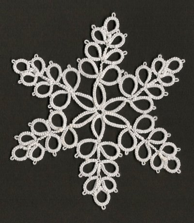 CHIACCHIERINO - TATTING - FRIVOLITE' - ICE CRYSTAL