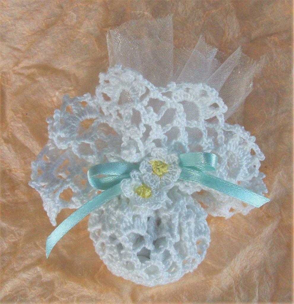Centrino bomboniera confettata