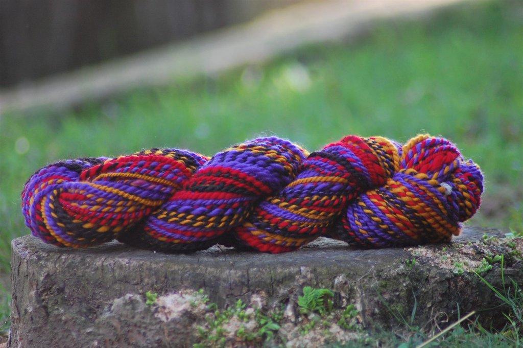Mamma Africa: lana merino filata a mano