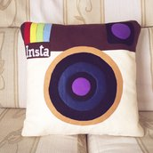 Cuscino decorativo Instagram Vintage