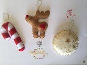 Decorazioni Natalizie Assortite per l'Albero di Natale