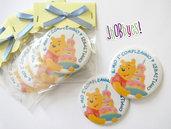 Calamita Primo compleanno Winnie The Pooh