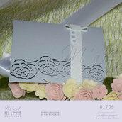 Elegante partecipazione di nozze: Charlotte