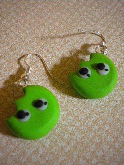 Orecchini SMARTIES verde