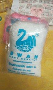 cordino swan made in thailandia bianco