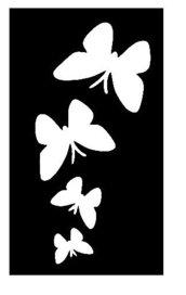 Stencil per Tattoo Glitter 02