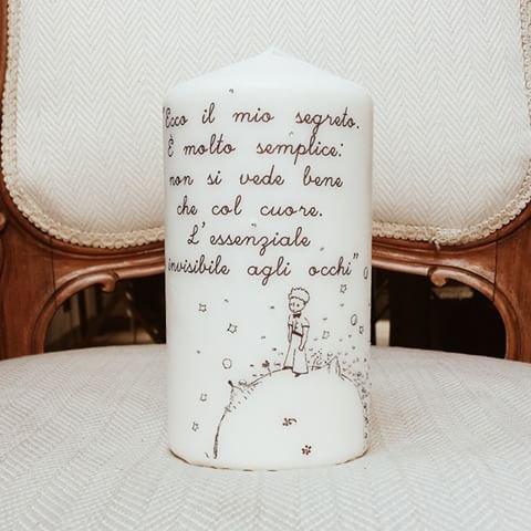 candele personalizzate per ogni occasione per la casa e
