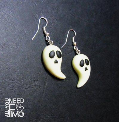 qualità e quantità assicurate all'ingrosso online scegli autentico Orecchini fantasmi | orecchini halloween | orecchini fosforescenti |  orecchini horror | orecchini fimo | orecchini fluorescenti