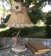 LAMPADA ROMANTICA IN PIZZO