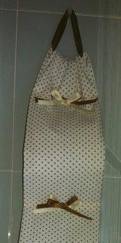 Porta rotoli fiocchi doppi