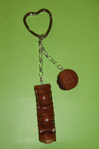 Portachiavi handmade duplo