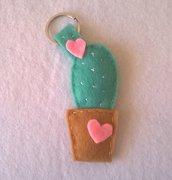 Portachiavi cactus porta chiavi pianta grassa in feltro