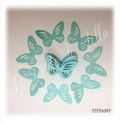 Farfalle 3D perlate