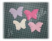 Farfalle per coni, menù, inviti, confettate... cm 5