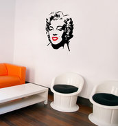 Adesivo Marilyn misura media