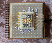 Guest Book Wedding Rustico - Country - Shabby Chic