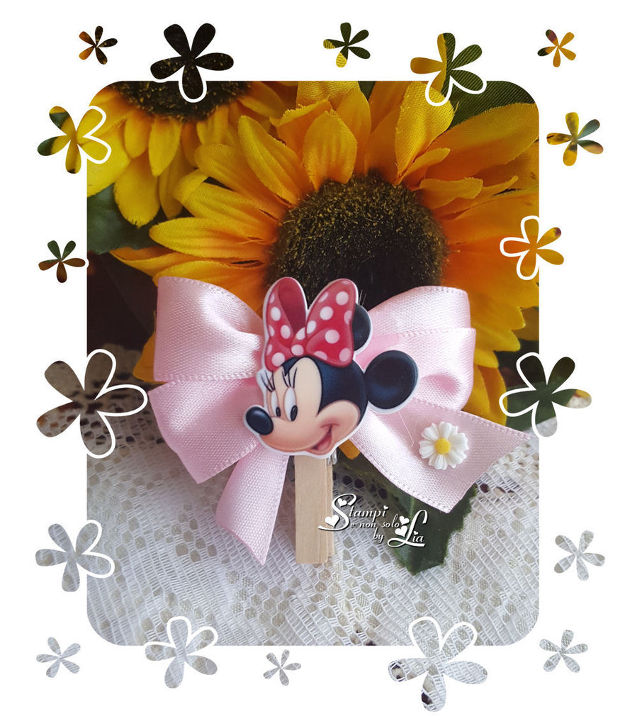 Mollettina segnaposto *Minnie*