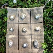 """Tic tac toe.""""Filetto"""" .Made in Italy"""
