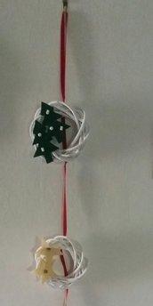 Dietro porta natalizio