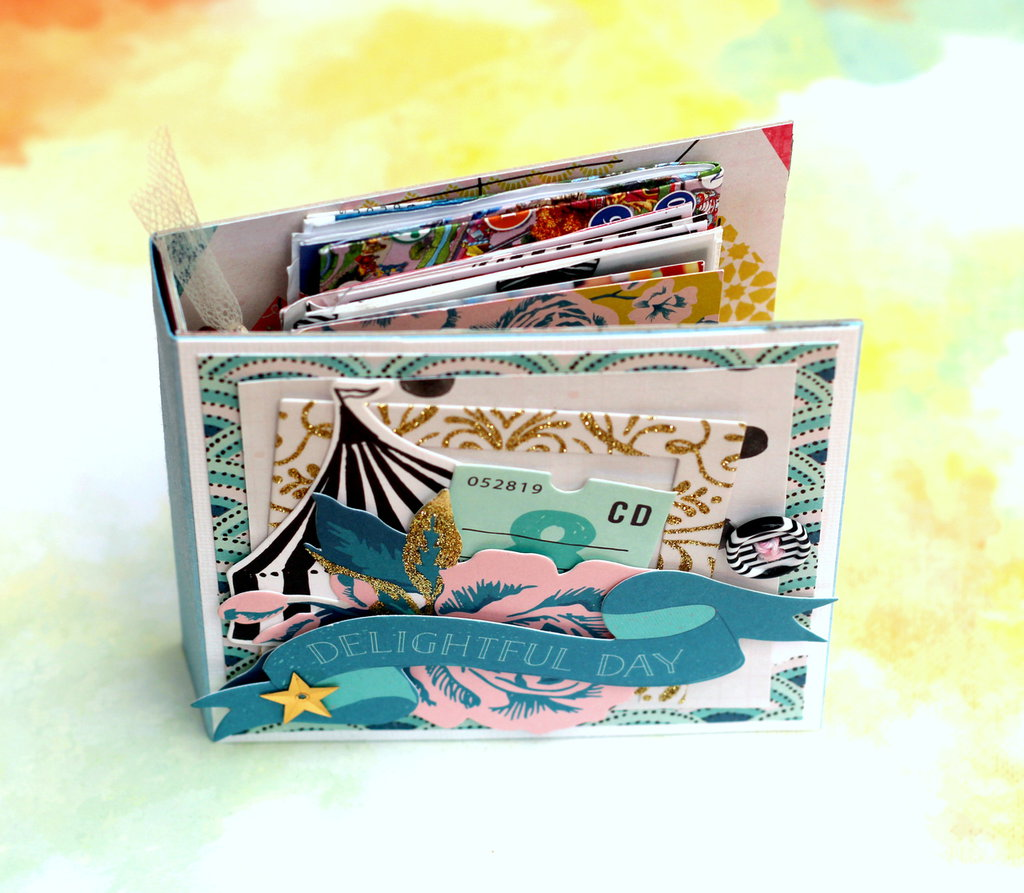 Album fotografico componibile - Carousel