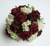 BOUQUET ROSE E GELSOMINO