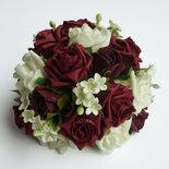 Bouquet Sposa Gelsomino.Bouquet Rose E Gelsomino Feste Matrimonio Di Fantasia Di